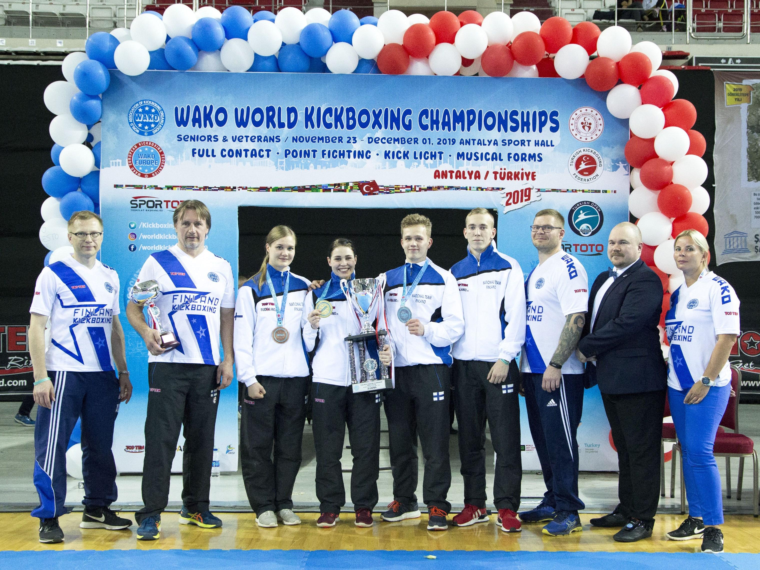 Suomen joukkue MM-kilpailuissa